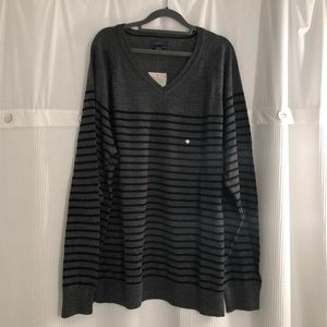 NWT Bass & Co. V-neck sweater